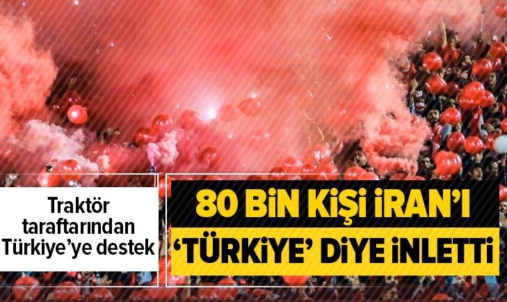 İran Türkiye sesleriyle inledi...