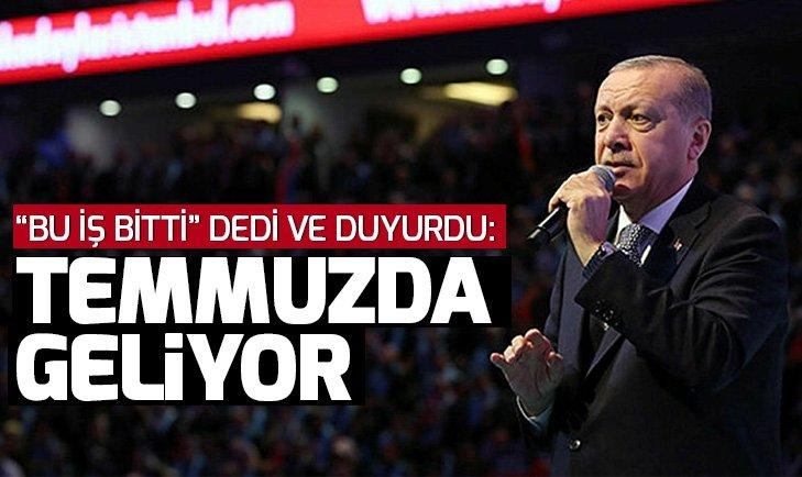 Başkan Erdoğan: S-400'ler Temmuzda Türkiye'de