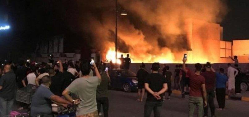 Bağdat'taki füzeli saldırı sonrasında ABD Büyükelçiliğinden siren sesleri yükseldi