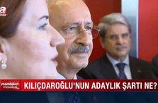 Memleket Meselesi - Kılıçdaroğlu'nun adaylık şart ne?