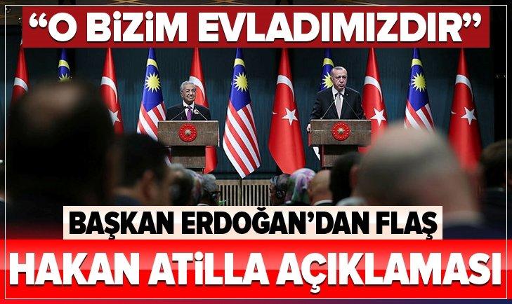 Başkan Erdoğan'dan flaş Hakan Atilla açıklaması
