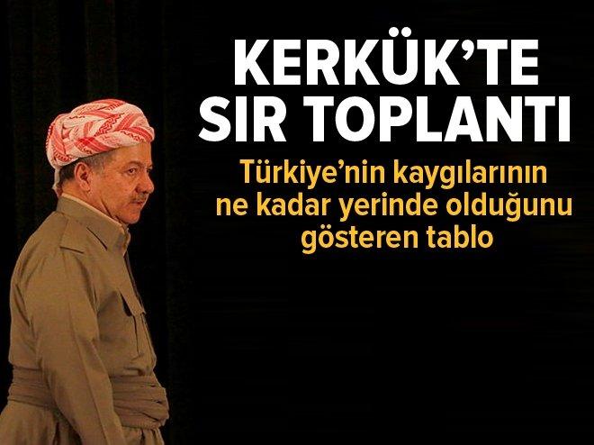 Kerkük'te sır toplantı. Türkiye kaygılarında haklı..