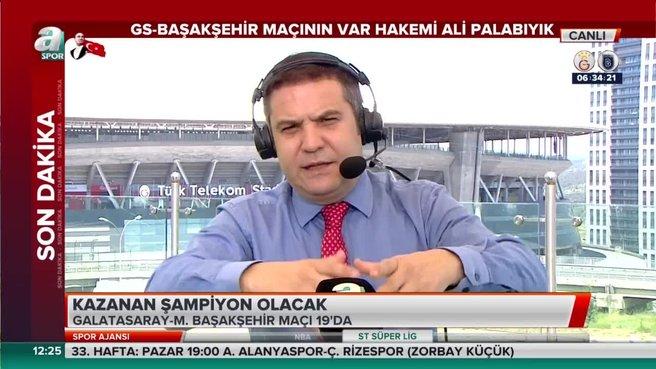 Galatasaray Başakşehir maçının VAR hakemi belli oldu