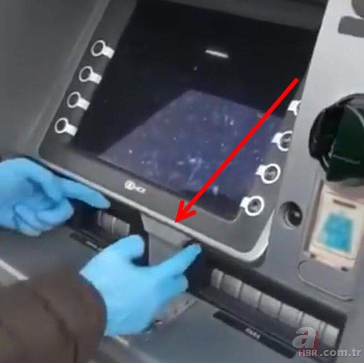 ATM'den para çekenler gizli tehlikeye dikkat! ATM fareleri sıra ...