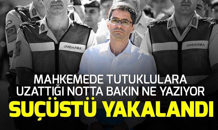 Son dakika: Kemal Batmaz'ın, FETÖ elebaşı Gülen'e yazdığı mektup ele geçirildi