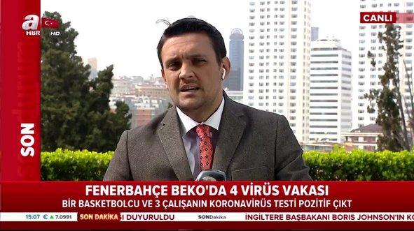 Fenerbahçe Beko'dan flaş corona virüs açıklaması!