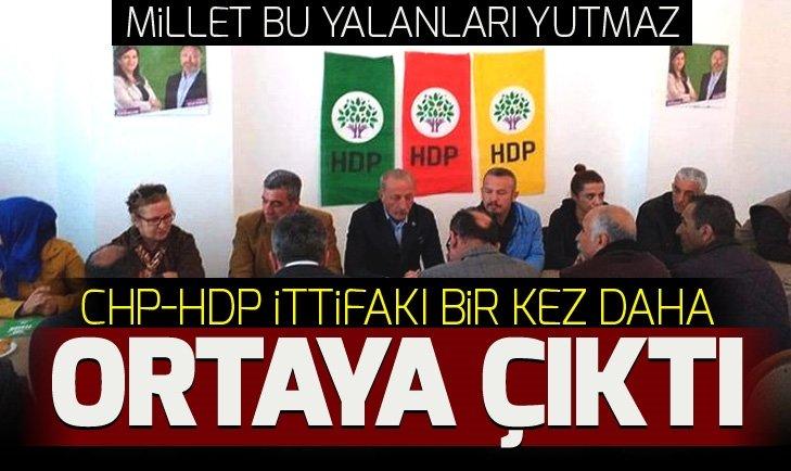CHP-HDP İTTİFAKI BU KEZ ORADA ORTAYA ÇIKTI