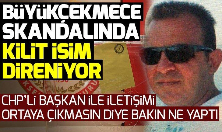 Büyükçekmece usulsüzlüğünü gizleme çabası! Mehmet Özgür Samanlı telefon şifresini vermiyor