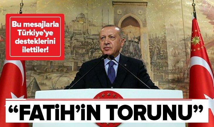 ARAP YAZARLAR VE İSLAM ALİMLERİNDEN TÜRKİYE'YE DESTEK!