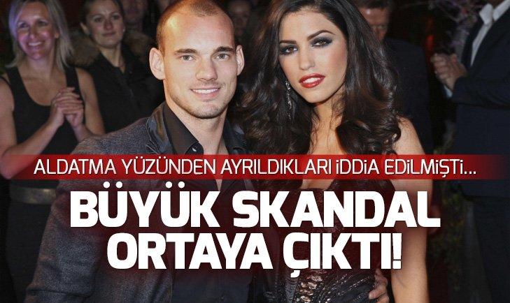 WESLEY SNEİJDER'İN EŞİ YOLANTHE CABAU'YA ŞİDDET UYGULADIĞI ORTAYA ÇIKTI