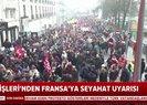 Dışişleri Bakanlığından Türk vatandaşlarına uyarı!