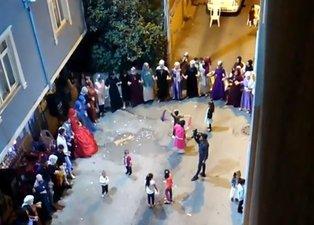 Koronavirüs halayı! Tedbirlere uymayan düğün sahiplerine para cezası