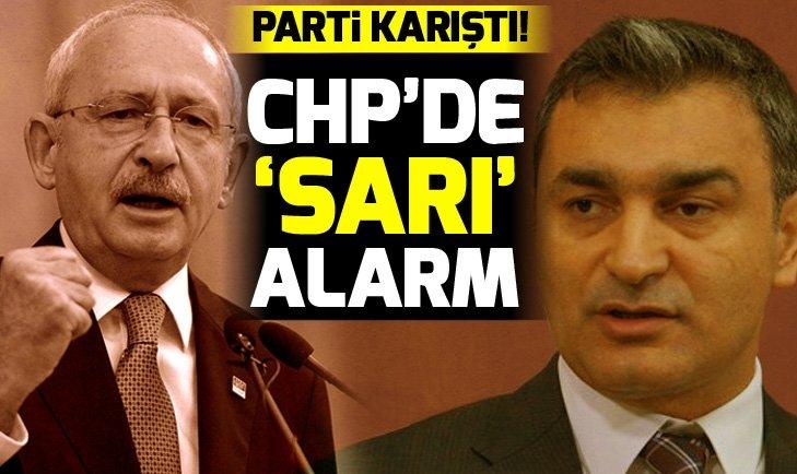 CHP'de 'Sarı' alarm