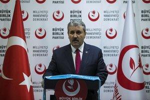 BBP Genel Başkanı Mustafa Destici'den Münbiç açıklaması: Türkiye tedbirli olmalı