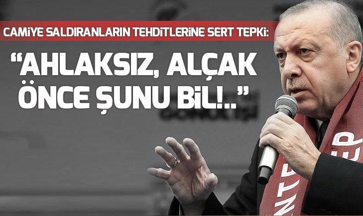 Son dakika! Başkan Erdoğan'dan Yeni Zelanda'daki cami saldırıyla ilgili yeni açıklama: Ahlaksız, alçak, sen kolayı seçtin!