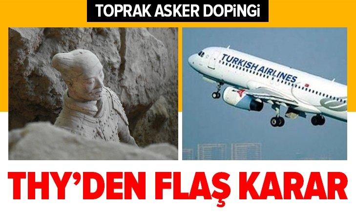 THY'YE TOPRAKTAN ASKER DOPİNGİ!