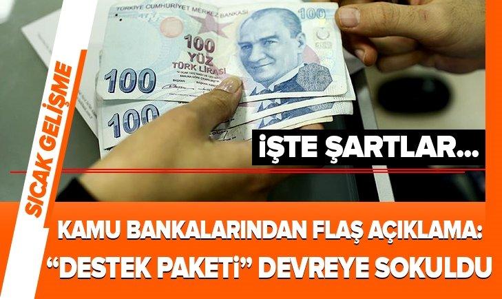Son dakika: Ziraat Bankası, VakıfBank ve Halkbanktan flaş açıklama: İşe Devam Kredi Desteğini hayata geçirdik
