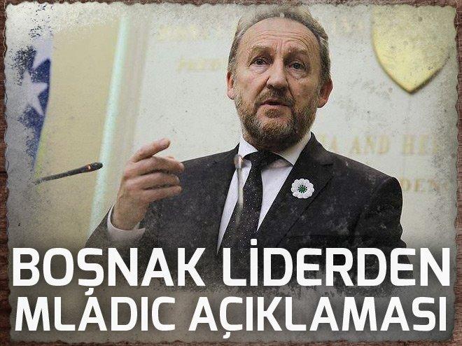 Boşnak lider İzetbegovic'ten 'Mladic' değerlendirmesi