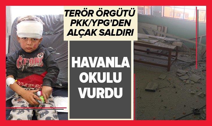 YPG TEL ABYAD'DA OKULU HAVANLA VURDU