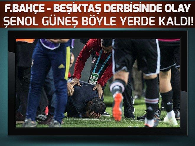 Fenerbahçe-Beşiktaş maçında olay! Maç durdu...