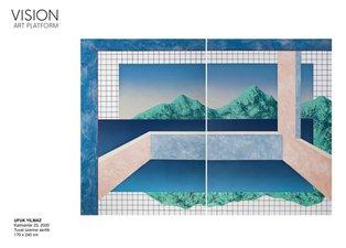 Ufuk Yılmaz'ın ilk kişisel sergisi 'Duvar' Vision Art Platform'da