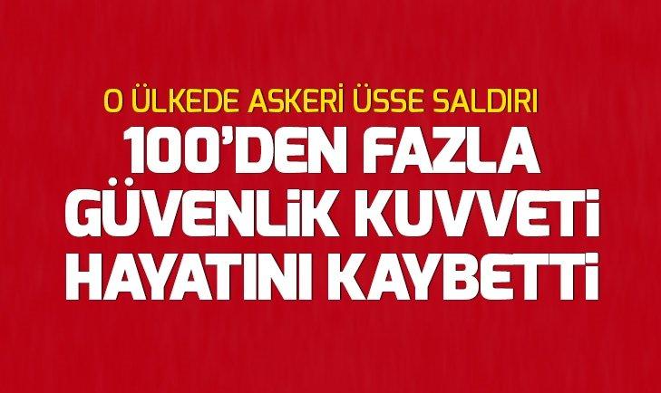 AFGANİSTAN'DA TALİBAN'DAN ASKERİ ÜSSE SALDIRI
