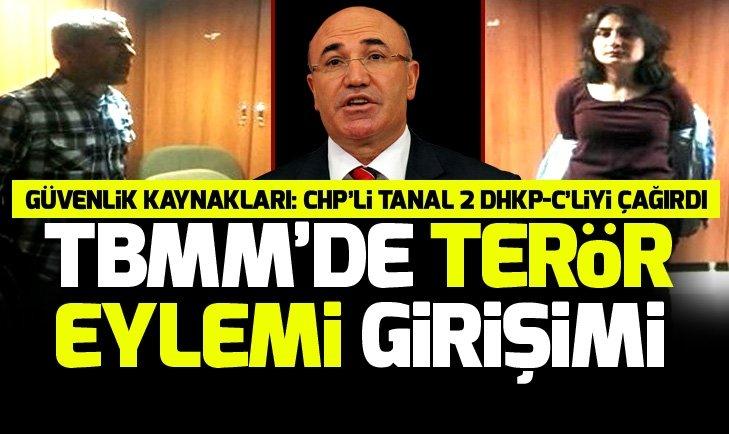 TBMM'ye girmeye çalışan DHKP/C terör örgütü ile irtibatlı 2 şahıs yakalandı
