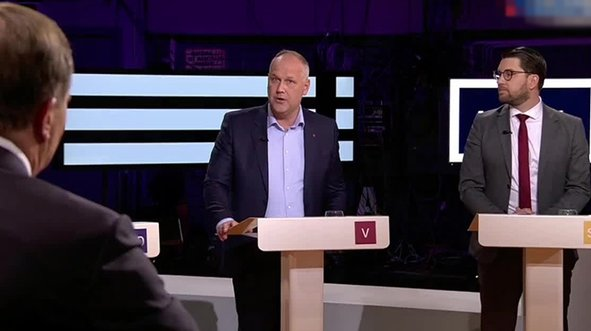 Canlı yayında Türkiye ve Erdoğan tartışması