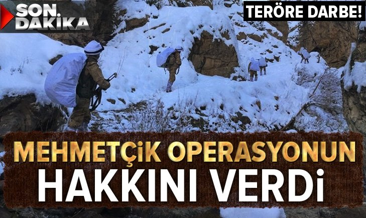 Son dakika: PKK/KCK'nın kış üslenmesine operasyon