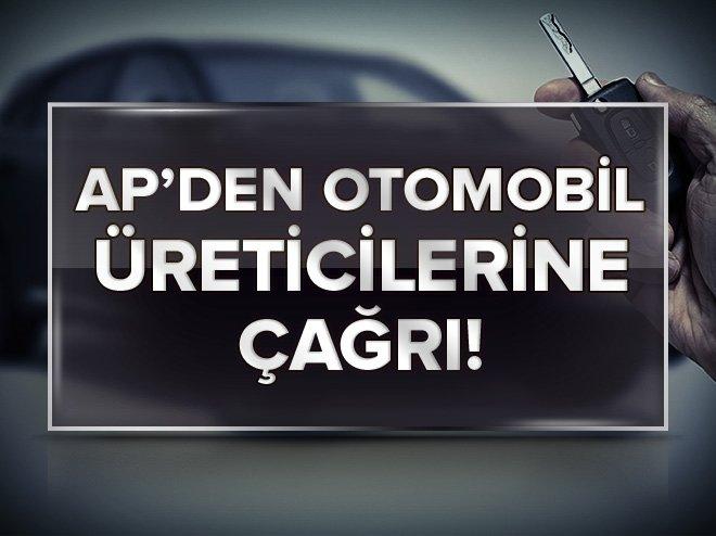 AP'DEN OTOMOBİLLERİN SIKI DENETLENMESİ ÇAĞRISI