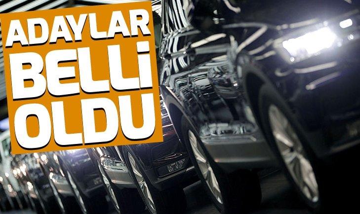 TÜRKİYE'DE YILIN OTOMOBİLİ ADAYLARI BELLİ OLDU! İŞTE O OTOMOBİLLER...