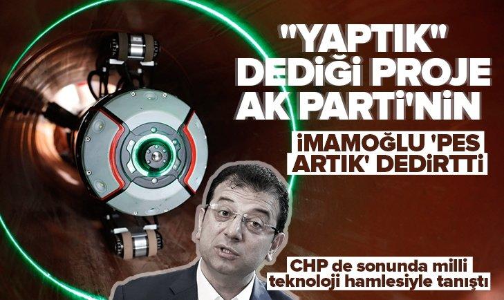 Ekrem İmamoğlu 'pes artık' dedirtti! AK Parti'nin milli teknoloji hamlesini kendi projesi gibi gösterdi