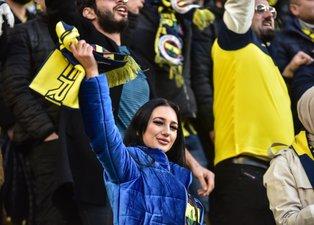 Fenerbahçe - Galatasaray derbisinden ilginç kareler!