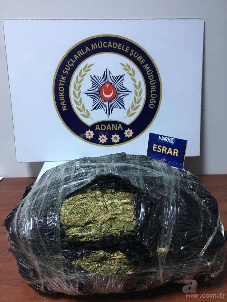 Adana'da uyuşturucu tacirlerine büyük operasyon