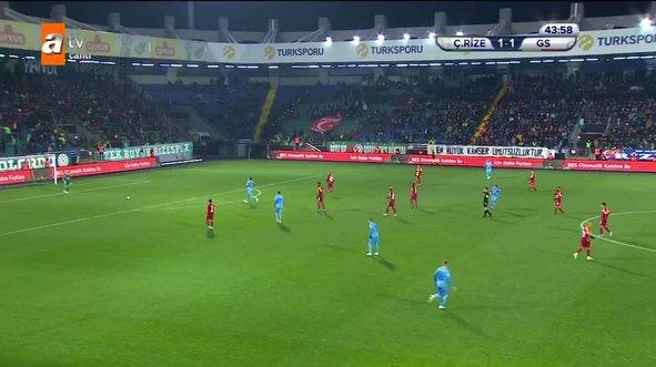 Çaykur Rizespor - Galatasaray maçının 90 dakikasını izle