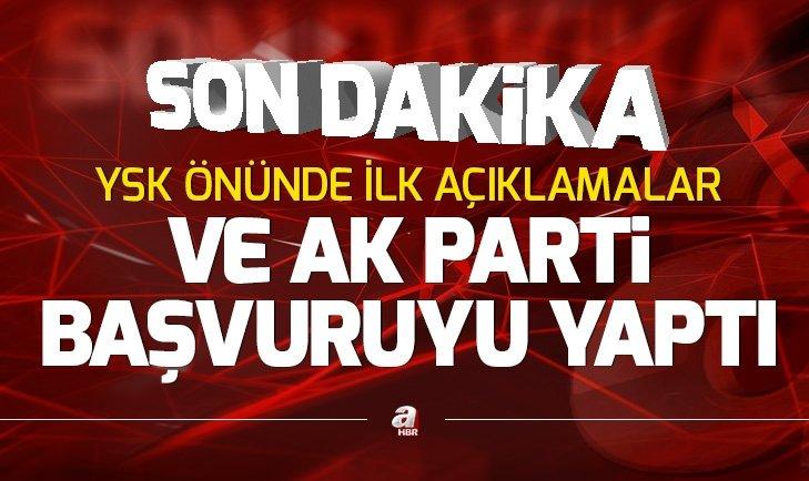 Son dakika: AK Partiden İstanbul için olağanüstü itiraz başvurusu