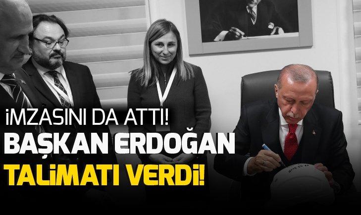 Başkan Erdoğan telsizden talimat verdi!