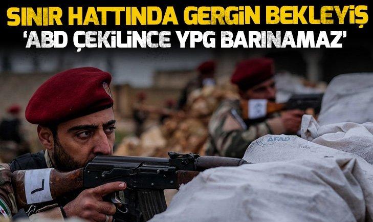 ABD Suriye'den çekilince YPG barınamaz