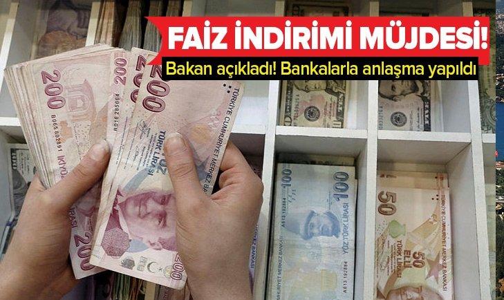 BAKAN VARANK'TAN KOBİ'LERE FAİZ İNDİRİMİ MÜJDESİ