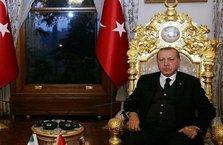 Cumhurbaşkanı Erdoğan, o isimleri Mabeyn Köşkü'nde kabul etti