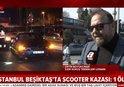 İSTANBUL BEŞİKTAŞ'TA SCOOTER KAZASI! İSTANBUL TRAFİĞİ SCOOTER İÇİN UYGUN MU? |VİDEO