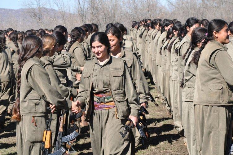 PKK'LI KADIN TERÖRİSTİN İTİRAFLARI KAN DONDURDU