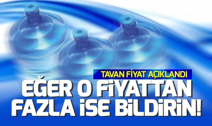 DAMACA SU FİYATLARINDA YENİ GELİŞME