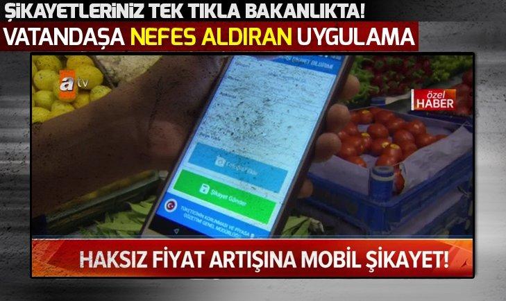 Fahiş fiyat artışına 'mobil şikayet'