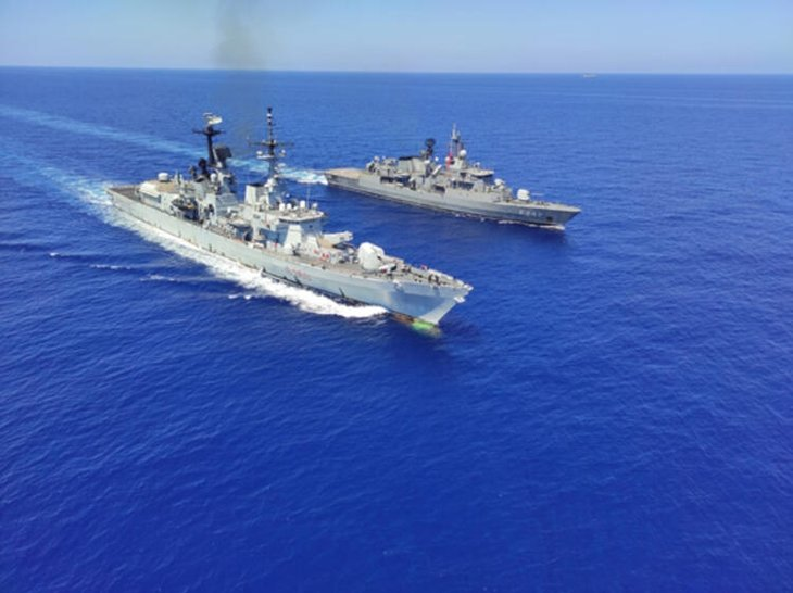 Türkiye Atina ve destekçilerine meydan okudu! Akdeniz'de dikkat çeken hamle: Savaş düzeni aldı