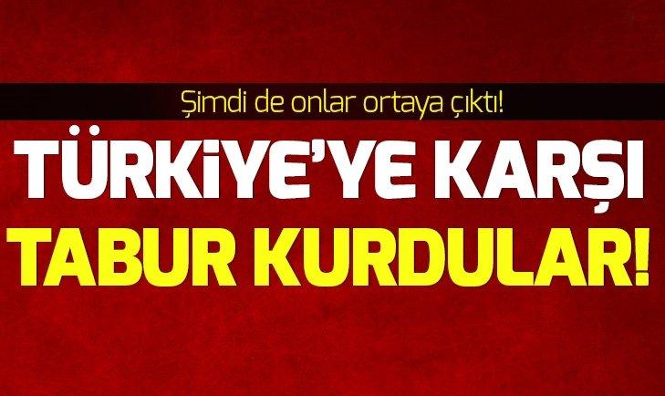 Teröristler Türkiye'ye karşı Ermeni taburu kurdu!