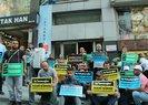 İBB'den işten çıkartılan bir grup işçi, CHP il binası önünde oturma eylemine başladı | Video