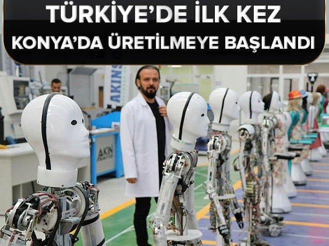 Türkiye'de ilk kez Konya'da üretilmeye başlandı