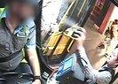 Otobüs şoförüne biber gazı ile saldırdı