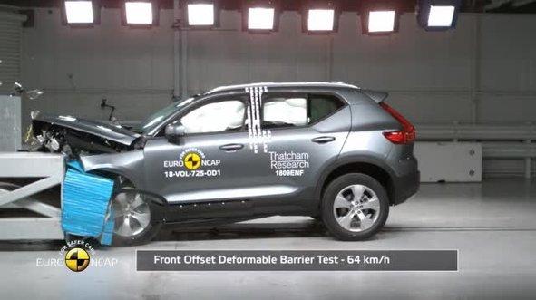 Volvo dayanıklılık testi sonucu şaşırttı! Sosyal medyayı salladı